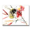 Americanflat Bee 3 by Suren Nersisyan Painting Print on Canvas