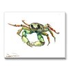 Americanflat Crab Painting Print on Gallery Wrapped Canvas