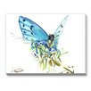 Americanflat Butterfly 2 Painting Print on Wrapped Canvas