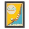 Americanflat Dive Into Florida by Anderson Design Group Framed Vintage Advertisement
