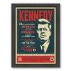 Americanflat Kennedy Framed Vintage Advertisement