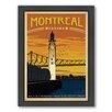 Americanflat Montreal Framed Vintage Advertisement