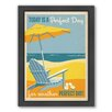 Americanflat Perfect Day Framed Graphic Art