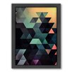 Americanflat Ynclyssy Framed Graphic Art on Canvas