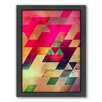 Americanflat Syx Nyx Framed Graphic Art on Canvas