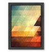 Americanflat Lyyt Lyyf Framed Graphic Art on Canvas