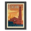 Americanflat Cleveland Framed Vintage Advertisement