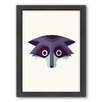 Americanflat Raccoon Art Framed Graphic Art