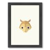 Americanflat Squirrel Art Framed Graphic Art