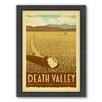 Americanflat Death Valley Framed Vintage Advertisement