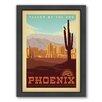 Americanflat Phoenix Framed Vintage Advertisement