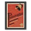 Americanflat Philadelphia Framed Vintage Advertisement