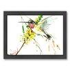 Americanflat Hummingbird 4 by Suren Nersisyan Framed Painting Print