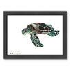 Americanflat Tortoise by Suren Nersisyan Framed Painting Print
