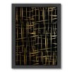Americanflat Cage Free Framed Graphic Art in Black