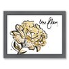 Americanflat Une Fleur by Khristian Howell Framed Graphic Art