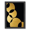 Americanflat Orbital by Khristian Howell Framed Graphic Art in Gold