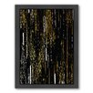 Americanflat Shooting Stars by Khristian Howell Framed Graphic Art