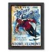 Americanflat Winter Carnival Framed Graphic Art