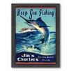 Americanflat Deep Sea Framed Graphic Art