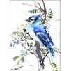 Americanflat Jay by Suren Nersisyan Painting Print