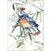 Americanflat Bird 2 by Suren Nersisyan Painting Print