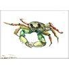 Americanflat Crab by Suren Nersisyan Painting Print