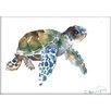 Americanflat Tortoise by Suren Nersisyan Painting Print