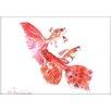 Americanflat Goldfish Group by Suren Nersisyan Painting Print