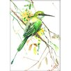 Americanflat Bee Eater by Suren Nersisyan Painting Print
