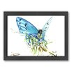 Americanflat Butterfly 2 by Suren Nersisyan Framed Painting Print