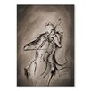 Americanflat Marc Allante The Cellist Dark Painting Print