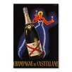 Americanflat Champaign Vintage Graphic Art