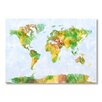 Americanflat World Map Wall Mural