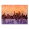 Americanflat Chicago Illinois Skyline Wall Mural