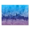 Americanflat Toronto Canada Skyline Wall Mural