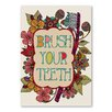 Americanflat Brush Your Teeth Graphic Art