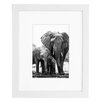 """Americanflat 8"""" x 10"""" White Wood Picture Frame"""