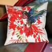 Americanflat Humingbird Cotton Throw Pillow