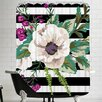 Americanflat Floral Burst Trio B Shower Curtain