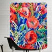 Americanflat Poppies Shower Curtain