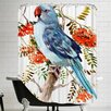 Americanflat Parakeet Shower Curtain