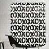 Americanflat Xoxo Shower Curtain