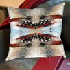 Americanflat Indian Feathers Throw Pillow
