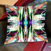 Americanflat Feather Leaf Throw Pillow
