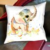 Americanflat Baby Elephant Throw Pillow