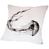Americanflat That's No Moon (Print) Throw Pillow