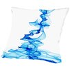 Americanflat Blue Ink Throw Pillow