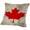 Americanflat Canada Flag Throw Pillow