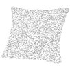Americanflat Gazania Dots Throw Pillow